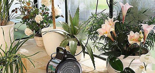 kasvuhoone kütmine-soojapuhur Palma