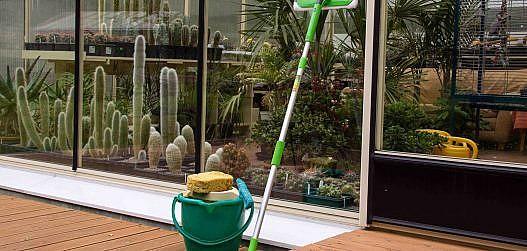 kasvuhoone puhastamine sügisel