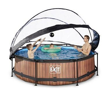 bassein_300cm katusega_30-32-10-10-exit-wood-pool-o300x76cm-with-dome-and-filter-pump-brown-4