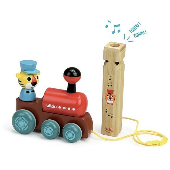 Puidust rongimudel koos rongivilega_7715_1